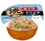 Ciao Tuna in Gravy Topping Crab Stick and Sliced Bonito Cat Wet Food (IMC102)